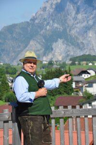 Moderator Werner Miklautsch